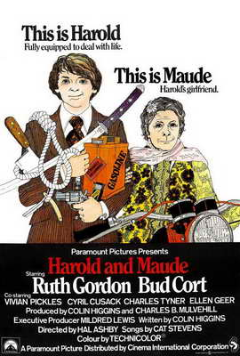 Harold and Maude - 27 x 40 Movie Poster - UK Style A