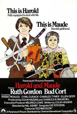 Harold and Maude - 11 x 17 Movie Poster - UK Style A
