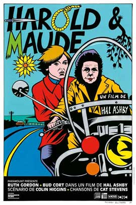 Harold and Maude - 11 x 17 Movie Poster - French Style A