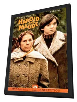 Harold and Maude - 11 x 17 Movie Poster - Style C - in Deluxe Wood Frame