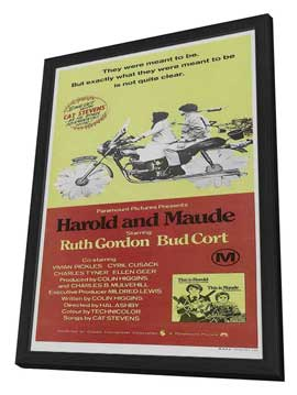 Harold and Maude - 20 x 40 Movie Poster - Style A - in Deluxe Wood Frame