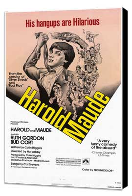 Harold and Maude - 11 x 17 Movie Poster - Style A - Museum Wrapped Canvas
