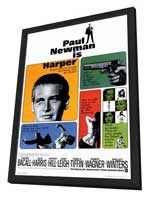 Harper - 27 x 40 Movie Poster - Style A - in Deluxe Wood Frame
