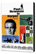 Harper - 27 x 40 Movie Poster - Style A - Museum Wrapped Canvas