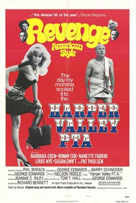 Harper Valley P.T.A. - 11 x 17 Movie Poster - Style A