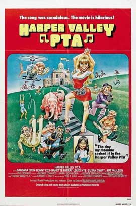 Harper Valley P.T.A. - 11 x 17 Movie Poster - Style B