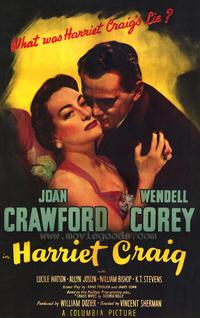 Harriet Craig - 43 x 62 Movie Poster - Bus Shelter Style A