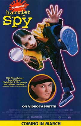Harriet the Spy - 11 x 17 Movie Poster - Style B