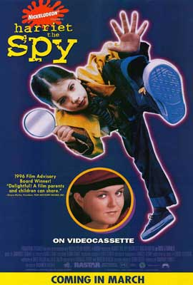 Harriet the Spy - 27 x 40 Movie Poster - Style B
