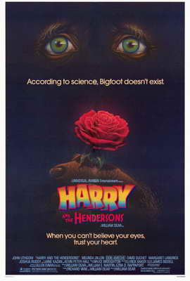 Harry and the Hendersons - 27 x 40 Movie Poster - Style A