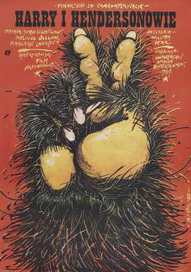 Harry and the Hendersons - 27 x 40 Movie Poster - Polish Style A