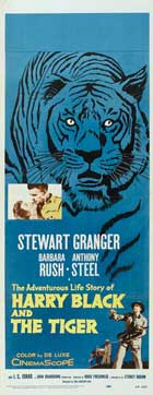 Harry Black and the Tiger - 14 x 36 Movie Poster - Insert Style A