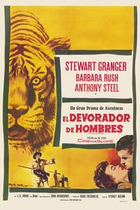 Harry Black and the Tiger - 11 x 17 Movie Poster - Spanish Style A