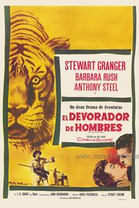Harry Black and the Tiger - 27 x 40 Movie Poster - Spanish Style A