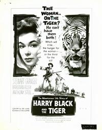 Harry Black and the Tiger - 8 x 10 B&W Photo #10
