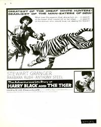 Harry Black and the Tiger - 8 x 10 B&W Photo #1