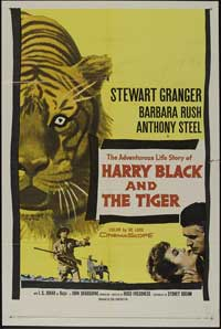 Harry Black and the Tiger - 27 x 40 Movie Poster - Style A