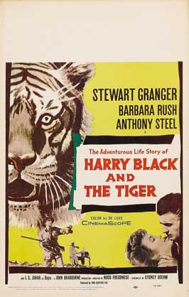 Harry Black and the Tiger - 11 x 17 Movie Poster - Style C
