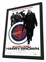 Harry Brown - 27 x 40 Movie Poster - Netherlands Style A - in Deluxe Wood Frame