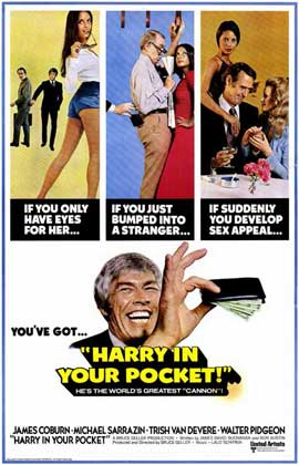 Harry In Your Pocket - 11 x 17 Movie Poster - Style A