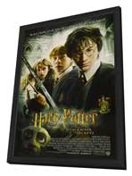 Harry Potter and the Chamber of Secrets - 11 x 17 Movie Poster - Style K - in Deluxe Wood Frame