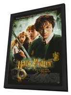 Harry Potter and the Chamber of Secrets - 27 x 40 Movie Poster - Style E - in Deluxe Wood Frame