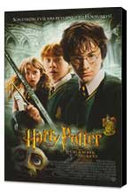 Harry Potter and the Chamber of Secrets - 27 x 40 Movie Poster - Style E - Museum Wrapped Canvas