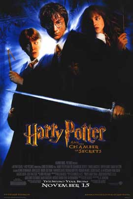 Harry Potter and the Chamber of Secrets - 11 x 17 Movie Poster - Style D
