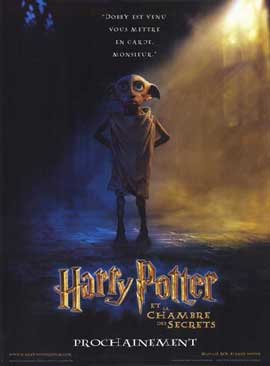 Harry Potter and the Chamber of Secrets - 11 x 17 Movie Poster - French Style A