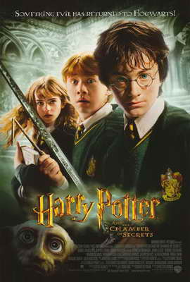 Harry Potter and the Chamber of Secrets - 27 x 40 Movie Poster