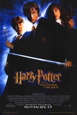 Harry Potter and the Chamber of Secrets - 27 x 40 Movie Poster - Style C