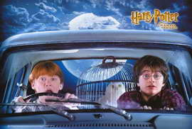 Harry Potter and the Chamber of Secrets - 27 x 40 Movie Poster - Style E