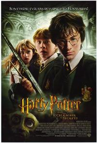 Harry Potter and the Chamber of Secrets - 43 x 62 Movie Poster - Bus Shelter Style C