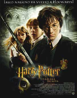 Harry Potter and the Chamber of Secrets - 11 x 17 Movie Poster - Spanish Style A