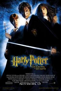 Harry Potter and the Chamber of Secrets - 43 x 62 Movie Poster - Bus Shelter Style D