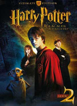 Harry Potter and the Chamber of Secrets - 27 x 40 Movie Poster - German Style A