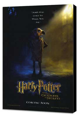 Harry Potter and the Chamber of Secrets - 11 x 17 Movie Poster - Style H - Museum Wrapped Canvas