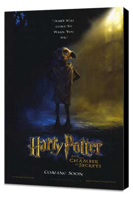 Harry Potter and the Chamber of Secrets - 27 x 40 Movie Poster - Style D - Museum Wrapped Canvas