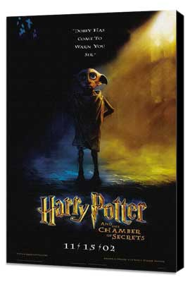 Harry Potter and the Chamber of Secrets - 27 x 40 Movie Poster - Style F - Museum Wrapped Canvas