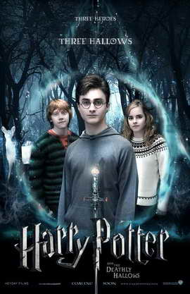 Harry Potter and the Deathly Hallows: Part I - 11 x 17 Movie Poster - Style A