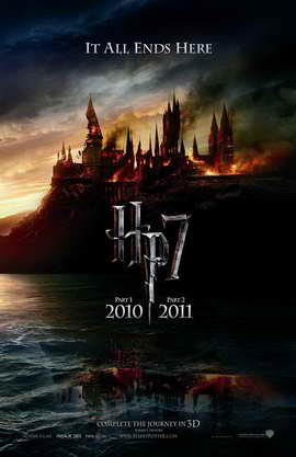 Harry Potter and the Deathly Hallows: Part I - 11 x 17 Movie Poster - Style D