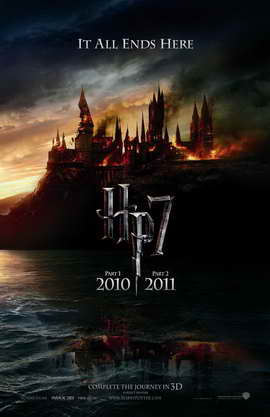 Harry Potter and the Deathly Hallows: Part I - 11 x 17 Movie Poster - Style E