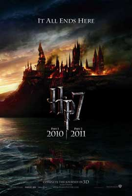 Harry Potter and the Deathly Hallows: Part I - 27 x 40 Movie Poster - Style B