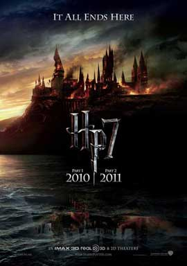 Harry Potter and the Deathly Hallows: Part I - 11 x 17 Movie Poster - Australian Style A