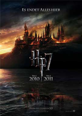 Harry Potter and the Deathly Hallows: Part I - 11 x 17 Movie Poster - German Style A