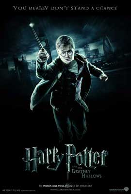 Harry Potter and the Deathly Hallows: Part I - 11 x 17 Movie Poster - Style F