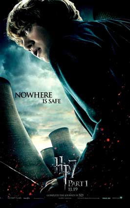 Harry Potter and the Deathly Hallows: Part I - 11 x 17 Movie Poster - Style G