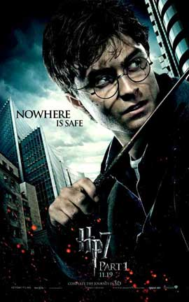 Harry Potter and the Deathly Hallows: Part I - 11 x 17 Movie Poster - Style I