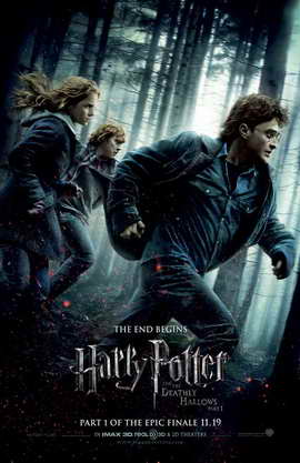 Harry Potter and the Deathly Hallows: Part I - 11 x 17 Movie Poster - Style J