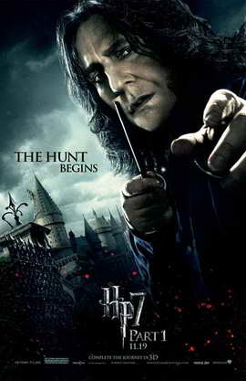 Harry Potter and the Deathly Hallows: Part I - 11 x 17 Movie Poster - Style M